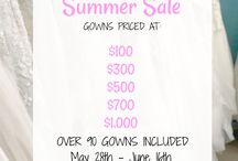 Events & Sales at Southern Bride