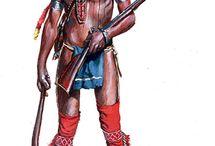 native indian bodypaint