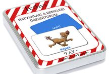Tethys / Okul öncesi yaş grubu için eğitici oyun kartları, çocuk kitapları, oyuncaklar ve dahası...