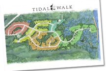 About Tidal Walk / TidalWalk is the essence of North Carolina coastal living. Located along a vast expanse of pristine land on the banks of the Intracoastal Waterway, TidalWalk is a place where time is measured by the tides. Where families come together, welcoming front porches invite new friendships and everyone takes pleasure in the quiet joys of life on the Atlantic Ocean, in the very heart of Wilmington.