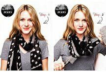 шарфы, платки