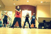 Zumba routines / by Leslie Holzinger Earl