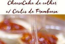 Cheese cake de colher
