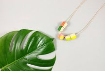 Kodes Tropical Geometric necklaces / Here you can find the full Kodes Tropial necklaces collection 2017.