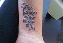 Tattoo's I vannnt / I want 'em all