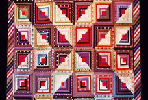 Quilts -Log Cabins