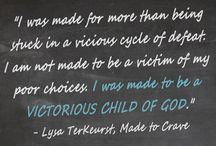Encouragement for my sisters in Christ
