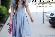 Pleaded dresses DIY
