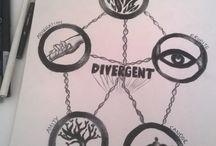 Divergence, Rezistence, Aliance,
