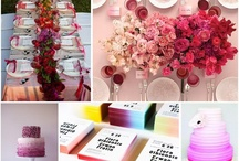 Wedding Inspiration - colourful / by Rosie Parsons