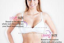Measuring for bra