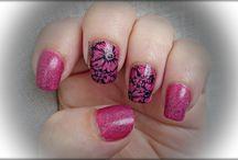 Efecto Granite y BPL-029 / Nail Art,manicuras.