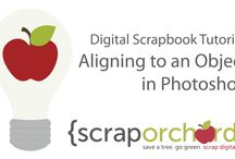 Tutorials / Digital Scrapbook Tips, Tricks & Tutorials / by Scrap Orchard