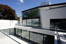 Project: The Hampstead House / An ongoing project in Hampstead. New build contemporary building using many aspects of IQ's architectural glazing.