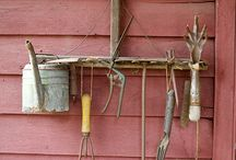 Garden shed & Tools