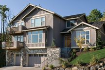 House Plans with Daylight or Walkout Basements / If you're building on a lot that has a slope, you may need to find a home with a daylight or walkout basement. The House Designers' offers a wide variety of house plans in one, two and three story designs in a variety of styles. Popular styles featuring daylight and walkout basements are craftsman, cottage, beach, waterfront, vacation and contemporary. http://www.thehousedesigners.com/ / by Best-Selling House Plans