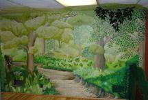 Children's church rooms