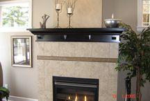 Fireplace Mantels / Custom built fireplace mantels and surrounds.