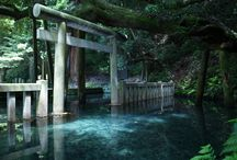 神社、お寺、和の風景など