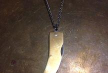 necklace knife