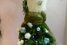 2015 christmas window at heavenly brides shrewsbury / Julie nicholas has created a fantastic winter wonderland in our bridal shop