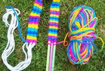 Wool craft for kids