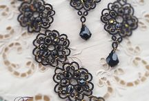 Needle tatting jewels I love