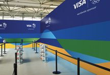 Visa Rio Olympics 2016 - Sanderson Bob / Visa Rio Olympics 2016 Visual Identity System A visual identity system that is uniquely Visa, grounded in their master brand identity, unifying their marketing communication materials across all platforms and markets leading up to and during the Rio 2016 Olympic Games.