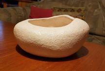pottery stone