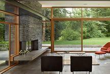 Midcentered modernized house