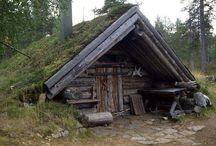 Log cabins etc
