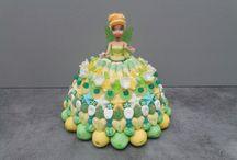 fee clochette gâteau bonbon