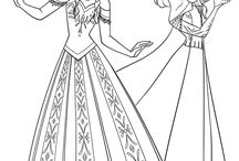coloring pages 9 (frozen)