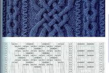 Вязание, схемы узоров