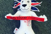 #TakePride / Pride, Team GB's official mascot, loves travelling around Great Britain and seeing how people across Great Britain take pride in our nation's team. / by Simon Jersey | Uniforms