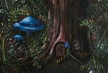 """Art / """"when inspiration knocks open the door!"""" Duirwaigh Studios"""