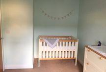Nursery / Mint green and grey