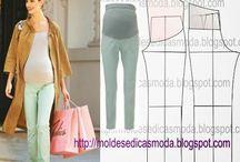 tehotenske kalhoty