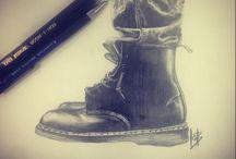Charlotte Hawley Creative - Moleskine sketches / #Moleskine Sketches