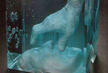 Sculpture de verre