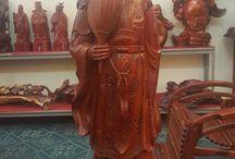 Tượng Khổng Minh / Các mẫu tượng gỗ Khổng Minh đẹp