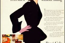 American Retro Illustration / Hand illustrations from America in the 50s and 60s