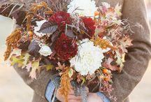 Autumn vintage wedding style