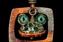 MOUNTAIN ROBBINS JEWELRY / Handmade Jewelry by Wayne Robbins and Judie Mountain --- handcrafted - jewelry - jewellery - glass - metalwork - beads - necklaces - bracelets - earrings