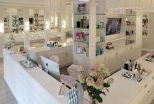 Beauty Salon interior design / Inspo for the interior design of my beauty salon