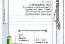 Showers & Seats