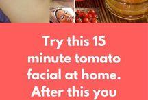 Tomato facial