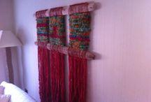 Telar / Telar con palos mapuches