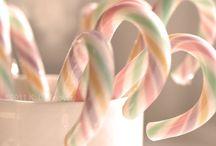 Christmas decor - pastel