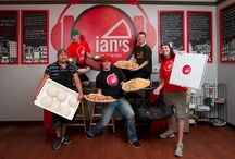 Our Staff & Guests! / We wouldn't be where we are today without our adoring Ian's Fanatics and our hard working staff. / by Ian's Pizza